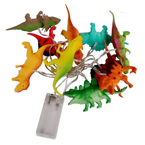 BIGTREE String Light White LED Dinosaur Battery Power Party Decoration Waterproof Mini