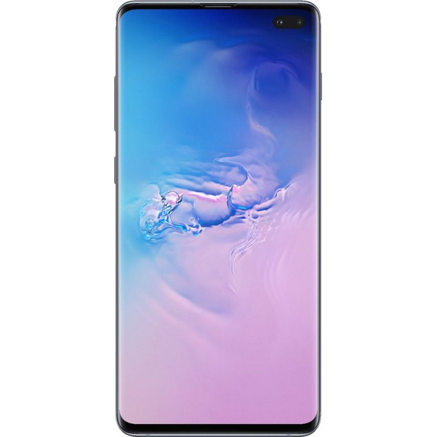 Samsung Galaxy S10+, AT&T, Blue, 128 GB, 6.1 in Screen