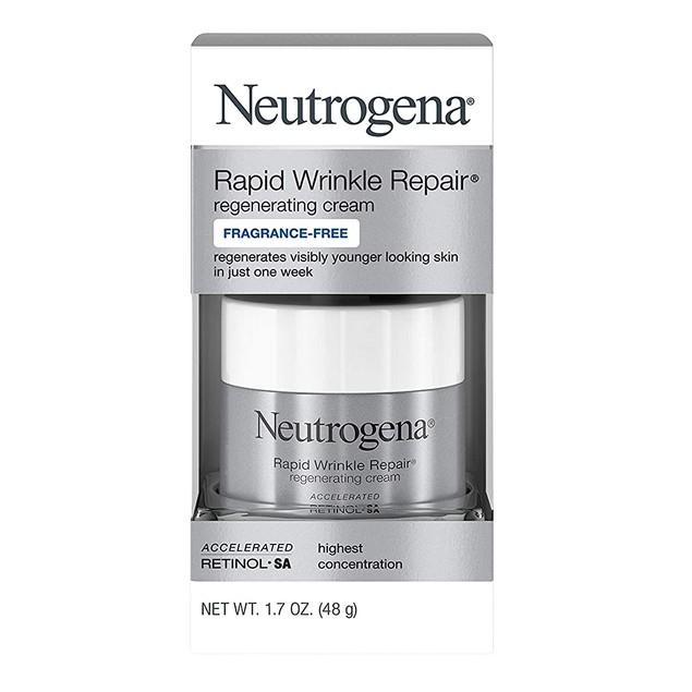 Neutrogena Rapid Wrinkle Repair Regenerating Cream, Fragrance Free, 1.7 oz