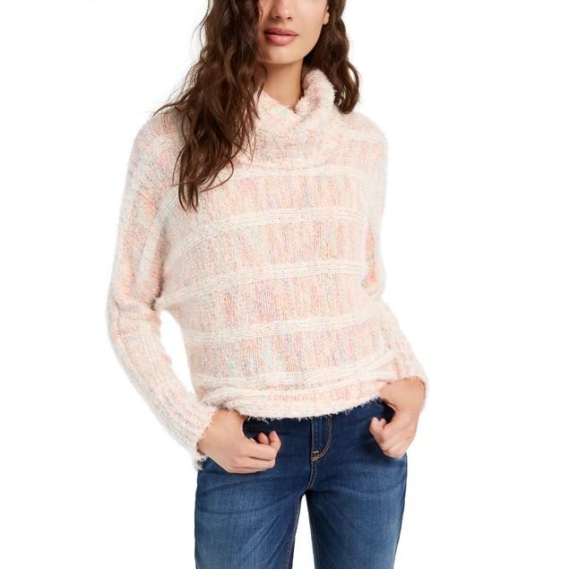 American Rag Junior's Turtleneck Sweater Beige Size X-Small