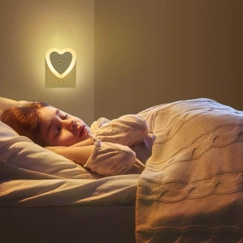 Heart Shaped LED Night Light | 3 Colors