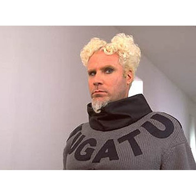 Mugatu Zoolander Adult Costume And Wig Will Ferrell Mens Deluxe Halloween