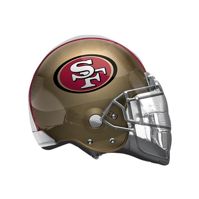 San Francisco 49ers Helmet XL Balloon