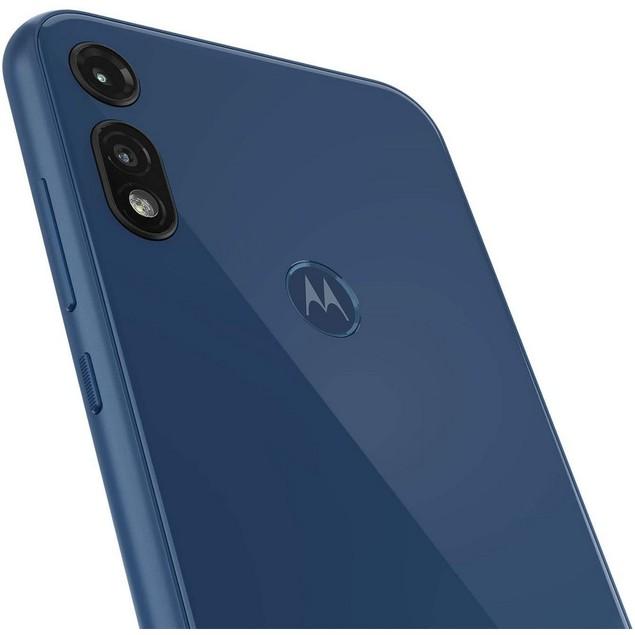 Motorola Moto E (2020), Metro, Grade B-, Blue, 32 GB, 6.2 in Screen