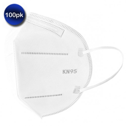 100 Pack: KN95 Protective Face Mask Protection
