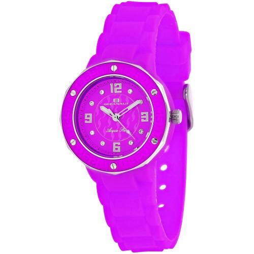 Oceanaut Women's Acqua Star Purple Dial Watch - OC0438