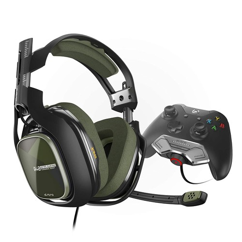 Logitech Astro A40 TR Gaming Headset + MixAmp M80 for Xbox One/PC/Mac