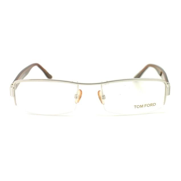 Tom Ford Unisex Eyeglasses TF5093 107 Silver 53 18 135 Rectangle