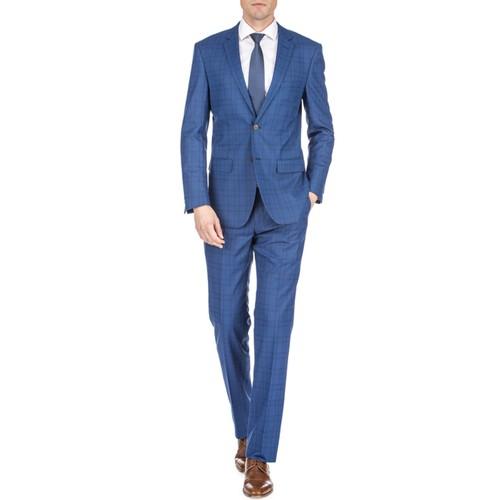 Gino Vitale Men's Harrogate Windowpane Slim Fit 2PC Suits