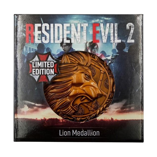 Lion Resident Evil 2 Limited Edition Metal Replica R.P.D. Medallion