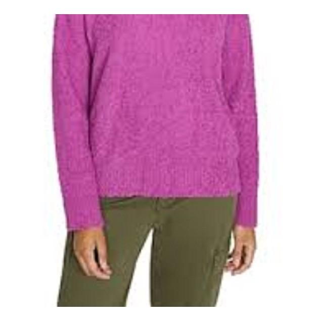 Sanctuary Women's Teddy Sweater Dark Purple Size Extra Small
