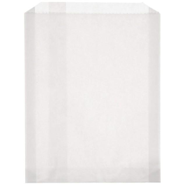 Sandwich 100 Piece Size, PB25 White Grease Resistant Paper Bag