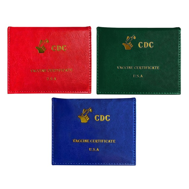 3-Pack: CDC Vaccination Card Holder