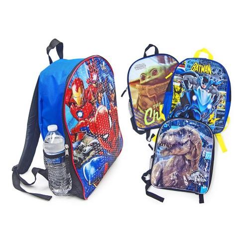 """16"""" Marvel/Disney Backpacks For School With Adjustable Padded Back Straps"""