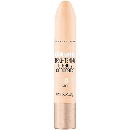 Maybelline New York Dream Brightening Creamy Concealer, Fair, 0.11 Ounce