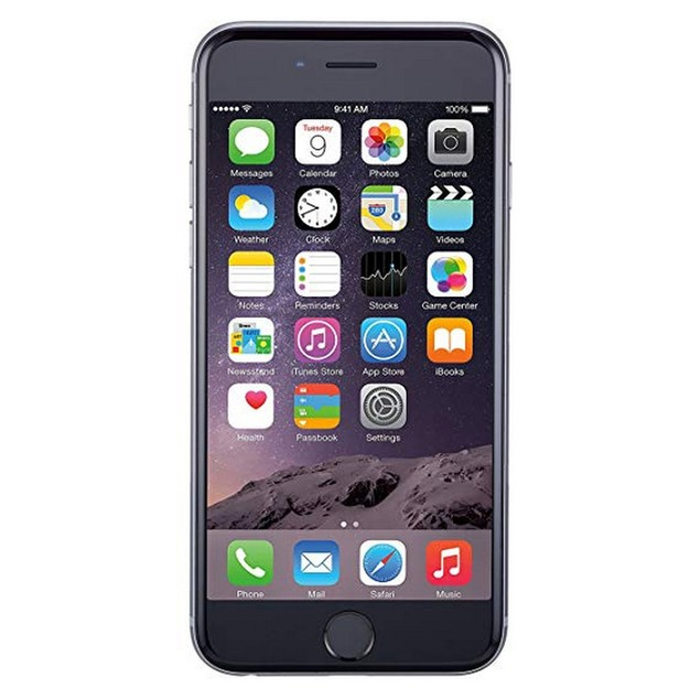 Apple iPhone 6, AT&T, Gray, 32 GB, 4.7 in Screen