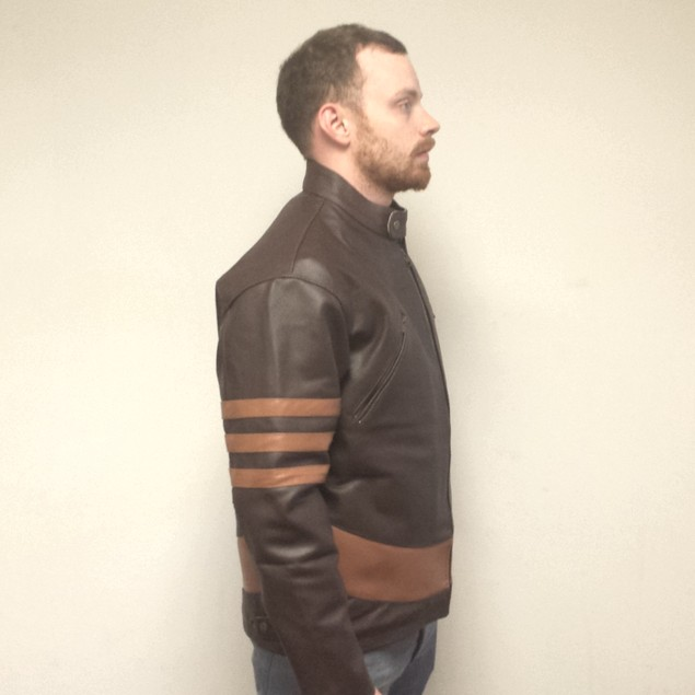 Logan Wolverine Faux Leather Jacket
