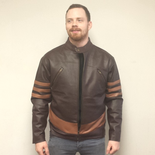 Logan Wolverine Faux Leather Jacket