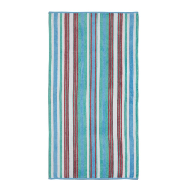 100% Cotton Rope Textured Oversized Beach Towel (Set of 2)