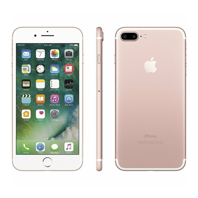 Apple iPhone 7 Plus 32GB Factory GSM Unlocked T-Mobile AT&T 4G LTE Rose Gold - Grade A