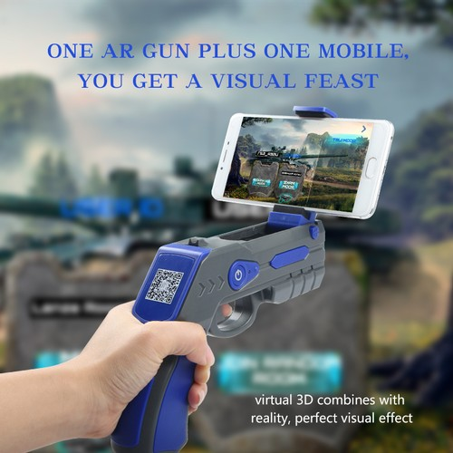 Super Space Hand Gun with NEW AR Technology Hand Gun Model Sniper Game