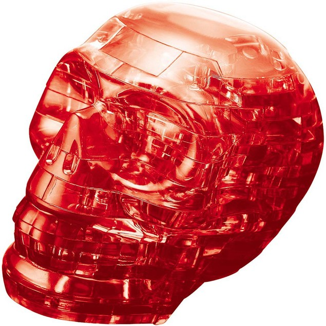Red Skull 3D Crystal Puzzle, More Pop Culture by University Games