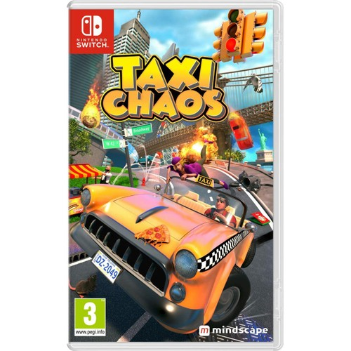 Taxi Chaos Nintendo Switch Game