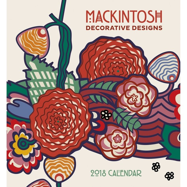 Mackintosh Mini Wall Calendar, Fine Art by Pomegranate