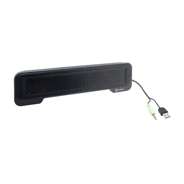 Connectland Portable Sound Bar, Add a Powerful Speaker any Laptop Computer