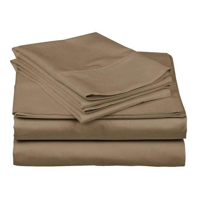 4 Piece: Super Soft 1800 Series Bamboo Fiber Bed Sheets