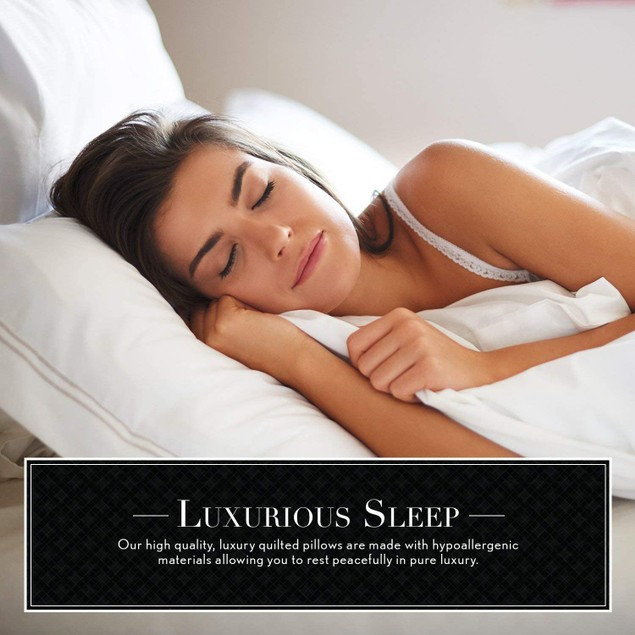 Italian Luxury Quilted Gel Pillow