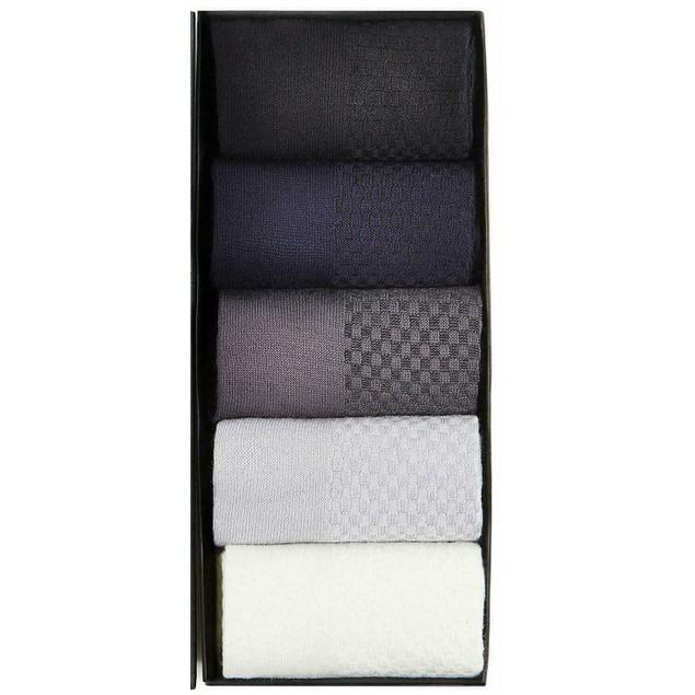 Colorful Bamboo Socks - Set of 5
