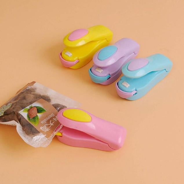 2 Pcs Portable Mini Sealing Household Machine Capper (Random Color)