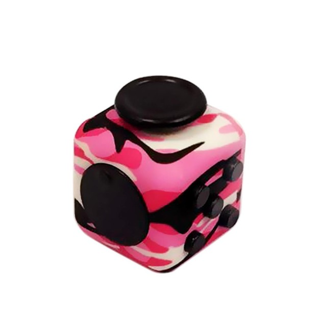 Camouflage Magic Fidget Cube Juguet Desk Spin Toys for Adults Kids