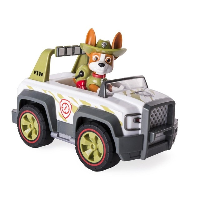 Paw Patrol, Jungle Rescue, Vehicle and Figure