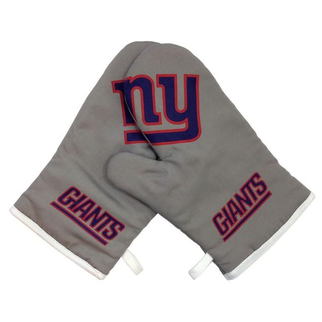New York Giants NFL Oven Cross Mitt Gloves