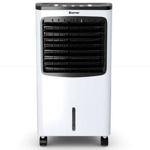 Costway Portable  Cooler Fan Filter Humidify Anion W/ Remote Control