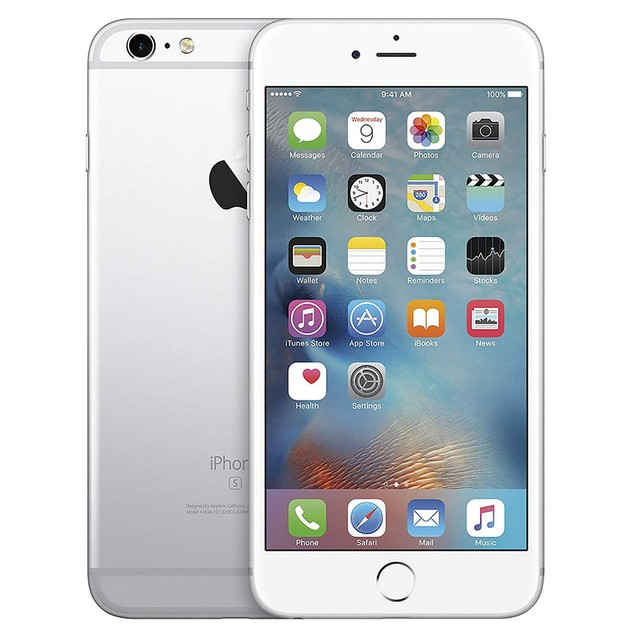 Apple iPhone 6s, AT&T, Silver, 128 GB, 4.7 in Screen