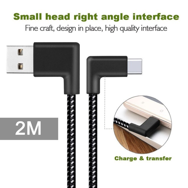 USB-C Type C Data&Sync Faster Charger Cable For Samsung Galaxy S8