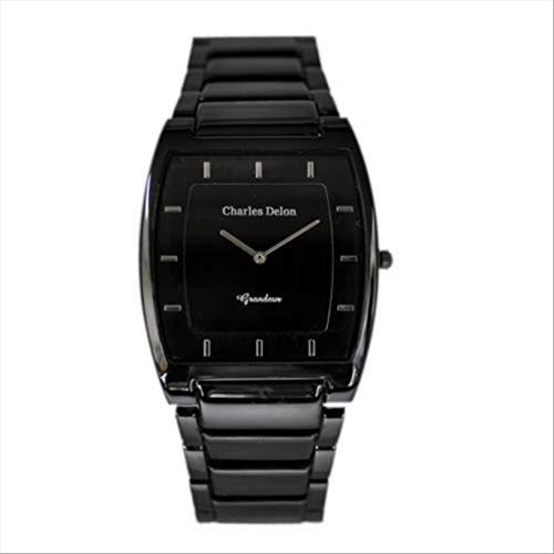Charles Delon Women's Watches 4892 GBSB Black/Black Stainless Steel Quartz Round