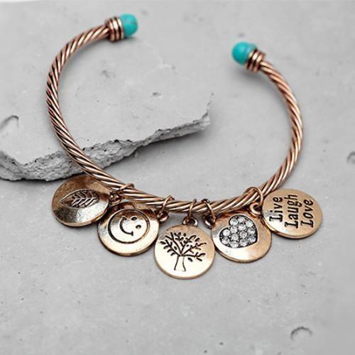 Love Much Bracelet Makes You Live Laugh Love