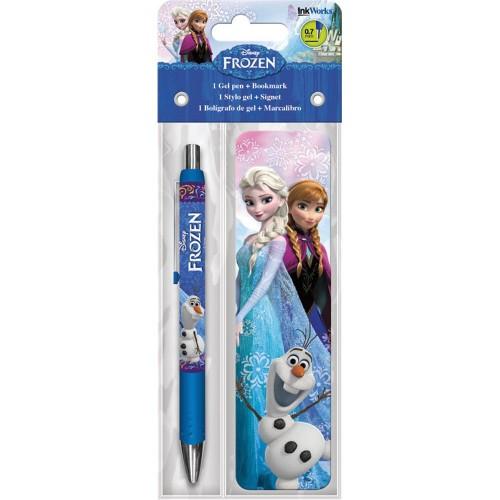 Disney Frozen Gel Pen and Bookmark Pack