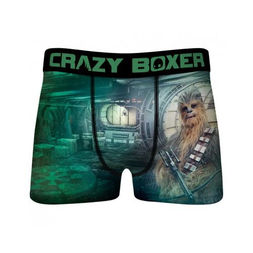 Star Wars Chewbacca Co-Pilot Men's Crazy Boxer Briefs