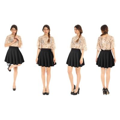 Basic Versatile Skater Skirt