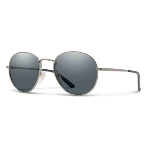 Smith Sunglasses Unisex PREP R80 Ruthenium Polarized Grey
