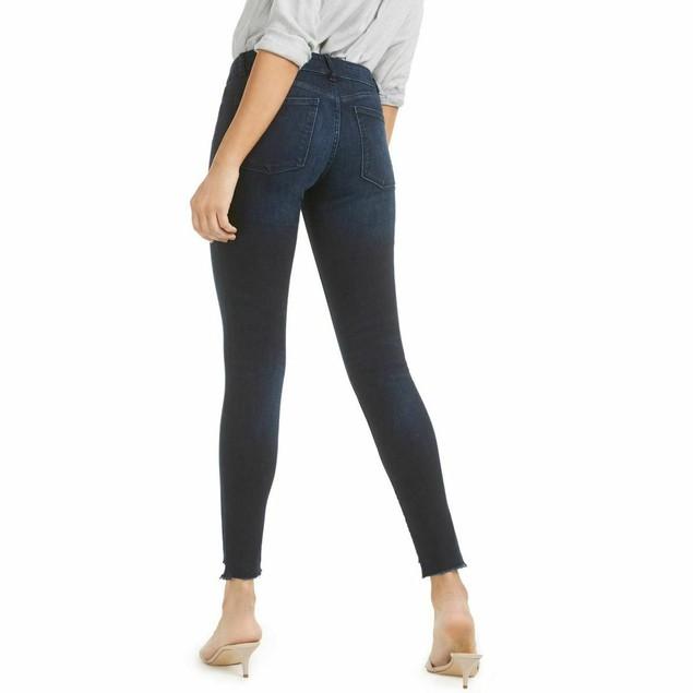 DL 1961 Women's Emma Low Rise Skinny Jeans Blue Size 25