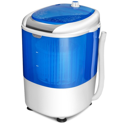 Costway 5.5lbs Portable Mini Compact Washing Machine Electric Laundry Spin