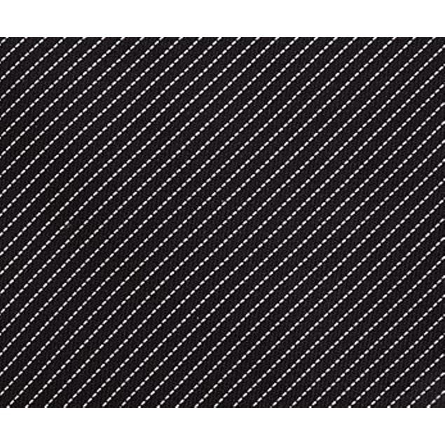 Kenneth Cole Reaction Men's Classic Fine Stripe Tie Black Size Regular