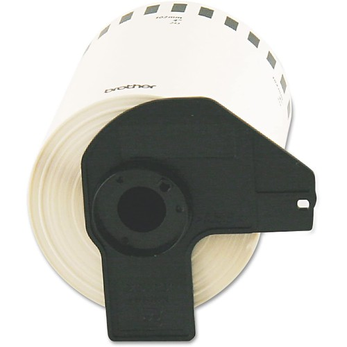 Brothers Brother DK2243 Continuous Length Shipping Label Tape for QL-1050, 4-Inch x 100 ft Roll, White