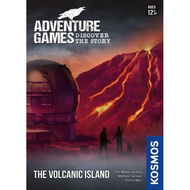 Adventure Games: The Volcanic Island Card Game